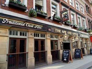 1108 John Dalton Street - The Ape And Apple pub