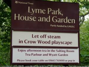 1191 Lyme Park, House and Garden