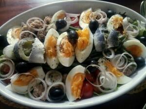 150605 089 Salade Niçoise