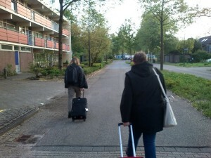 1525 walking home