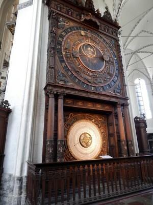 0289 St. Marienkirche - astronomische klok
