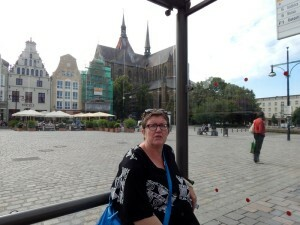 0299 wachten op de tram naar station