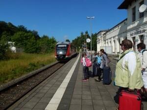 1231 trein naar Rostock