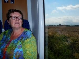 1232 trein naar Rostock