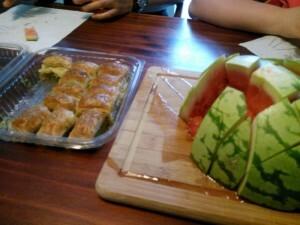 150724 022 nagerecht baklava met watermeloen