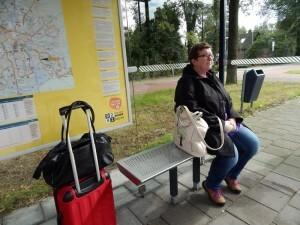 001 150925 Dag 1 vrijdag - naar de trein