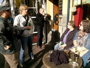 013 bij Kafé België - Tim Marco E Chantal