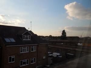 073 uitzicht vanaf de hotelkamer