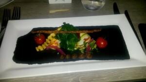 151208 330 met collega's in restaurant Voldaan Nijmegen
