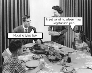 Hoe zijn er ooit vegetariërs gekomen?