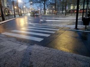 160225 273 Arnhem 's morgens vroeg in de sneeuw