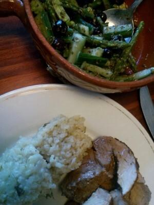 160328 306 fricandeaurollade met venkelrisotto en salade van blauwe bessen en groene asperges