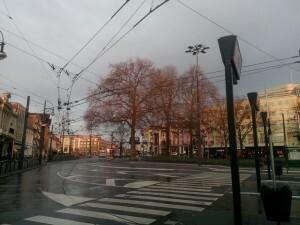 160404 016 Arnhem Willemsplein om 07.15 uur