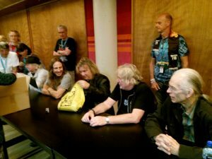 40 Yes meet - AlanWhite JonDavison BillySherwood GeoffDownes SteveHowe