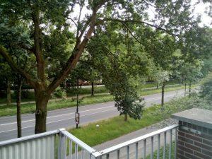 160608 388 nieuwe huis - uitzicht vanaf balkon