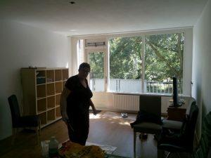 160618 451 radiator en vensterbank schilderen