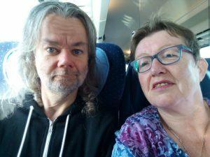 0002 in de trein naar Berlijn