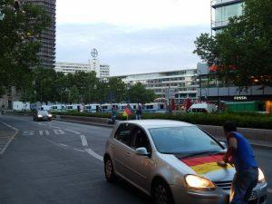 0058 Breitscheidplatz klaar voor EK-match