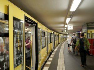 0324 U-Bahn naar Potzdamer Platz