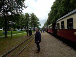 0945 aankomst bij Rennbahn