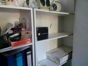 160817 207 Het Grote Opruimen in de werkkamer is begonnen