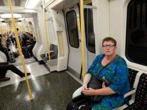 044 in de metro naar Marylebone