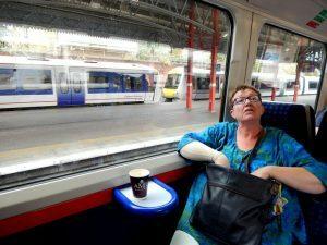 050 in de trein naar Aylesbury