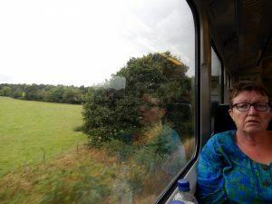 053 in de trein naar Aylesbury