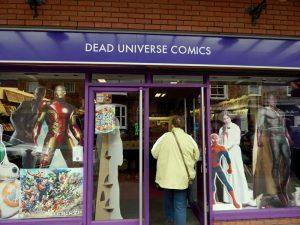232 comics shop in Bourbon Street