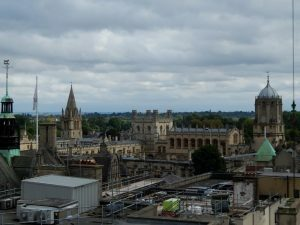 337 view from Carfax Tower - Christ Church College