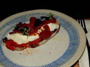 445 bruschetta tomaatjes roomkaas