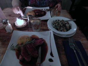 695 lamb steak