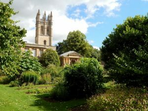 756 University of Oxford Botanic Gardens