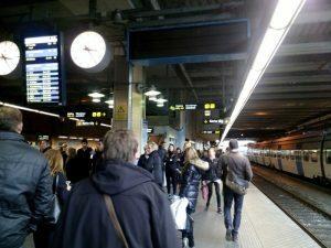 010 pendeltag naar Solna