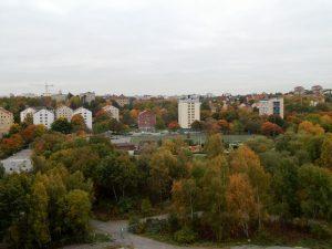 044 uitzicht op Solna