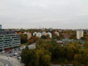 045 uitzicht op Solna