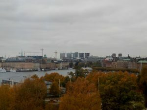 088 uitizcht op Blasieholmen en Nybronsviken