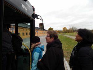 160 bus naar Odenplan