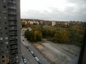 275 161017 maandag - uitzicht op Solna